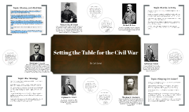 Copy of Setting the Table for the Civil War