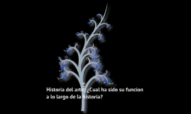 "Trabajo : ""Historia del arte"""