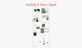 Digital Forest Collection: Scholarly B Bear's Quest