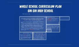 Whole School curriculum plan