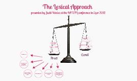 Lexical Approach by Judit Révész