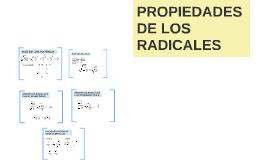 PROPIEDADES DE LOS RADICALES