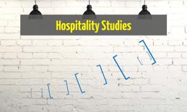 Copy of Hospitality Studies