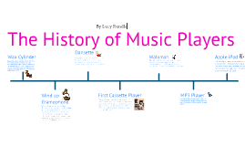 The History of Music Players