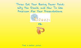 Why You Should Use Prezi.com.