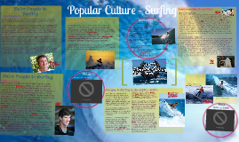 Popular Culture - Surfing and Swimwear.