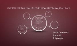 Copy of PRINSIP DASAR MANAJEMEN DAN KEWIRAUSAHAAN