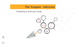 The Tempest - inference and PEE