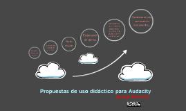 Propuestas de uso didáctico para Audacity