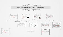 Historia de la psicometría
