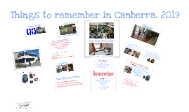 Last minute Reminders Canberra 2019