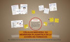 Células nerviosas: membrana plasmática y fármacos