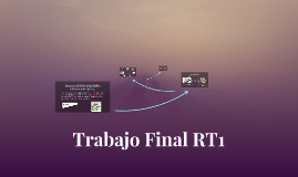 Trabajo Final RT1