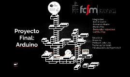Proyecto final: Arduino