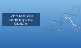Copy of Role of Genetics in Determining homosexuality