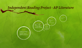 Copy of Independent Reading Project - AP Literature