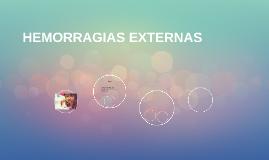 HEMORRAGIAS EXTERNAS