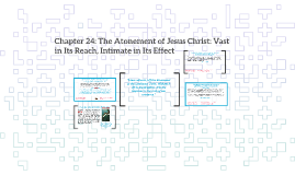 Chapter 24: The Atonement of Jesus Christ: Vast in Its Reach