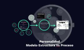 Personalidad                       Modelo Estructura Vs Proc