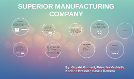 superior manufacturing company Superior manufacturing is proud of our long standing reputation of over 50 years in meeting the needs for production machined products our experience is noted with consistent repeat customers in the food production, industrial machines, automotive, aerospace, printing, waste management and electronic industries.