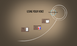 USING YOUR VOICE