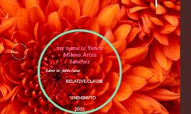 my name is yency milena ariza sanchez
