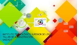 INSTITUTO TECNOLOGICO SUPERIOR DE LERDO