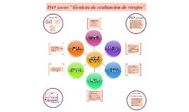 """ISO 31010 """"Técnicas de evaluación de riesgos"""""""