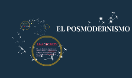 EL POSMODERNISMO