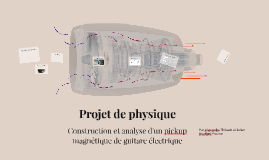 Projet de physique