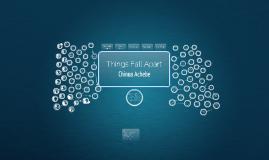 Things Fall Apart Novel Notebook