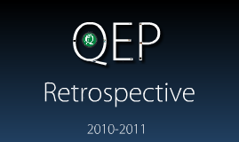 QEP Year in Review