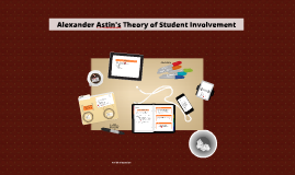 Copy of Alexander Astin's Theory of Involvement