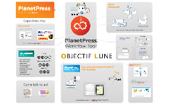PlanetPress Capabilities MAP