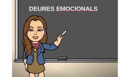 DEURES EMOCIONALS
