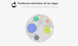 Productos derivados de las algas