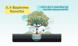6.4 Employee Benefits