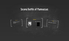Second Battle of Mannassas