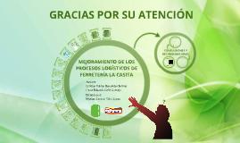 Mejoramiento de los procesos logísticos de Ferretería La Casita