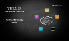 Title IX for HRL Staff SFAI