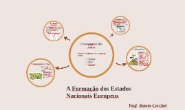 Copy of A Formação dos Estados Nacionais Europeus