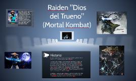 "Raiden ""Dios del Trueno"" (Mortal Kombat)"