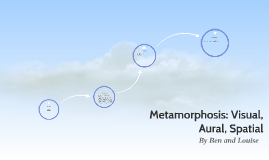 Metamorphosis: Visual, Aural, Spatial