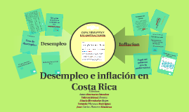 Copy of Desempleo e inflación en Costa Rica