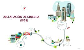 Copy of DECLARACIÓN DE GINEBRA