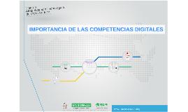 IMPORTANCIA DE LAS COMPETENCIAS DIGITALES