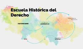 Copy of Escuela Histórica del Derecho