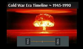 Cold War Era Timeline