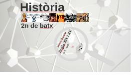 Presentació Història 2batx