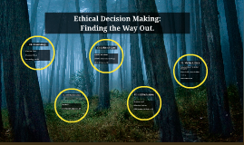 Ethical Decision Making: